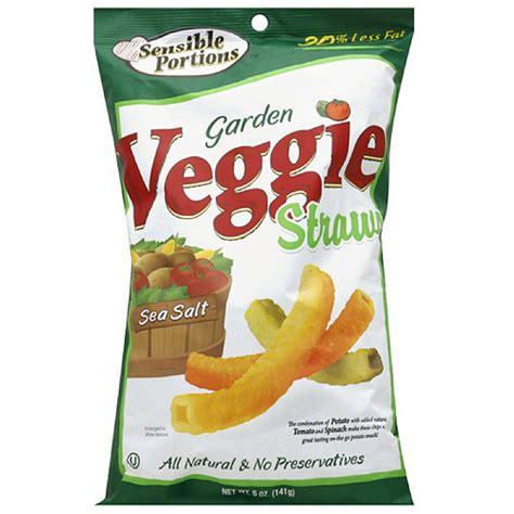 Garden Vegetable Chips Sensible Portions Sea Salt Garden Veggie Straws 5 Oz