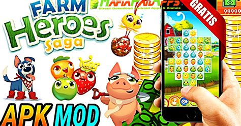 farm saga apk farm heroes saga apk mod lives android mafiapaidapps