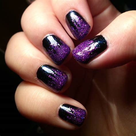nails and designs purple and black nail designs www pixshark images