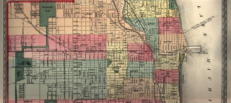 chicago map 1900 cook county illinois maps and gazetteers