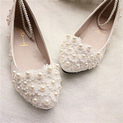 White Wedding Flats by 25 Best Ideas About Flat Bridal Shoes On