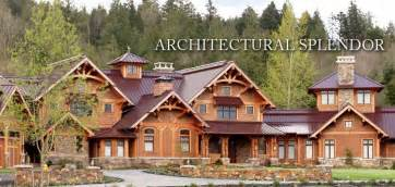 Luxury Open Floor Plans by Open Floor Plans Timber Frame Luxury Timber Frame Homes