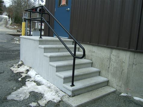 Exterior Banister by Exterior Metal Stair Railings Home Design