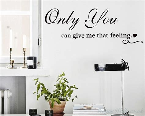 Give Me Live Room by Only You Can Give Me That Feeling Vinyl Wall Quotes Decal