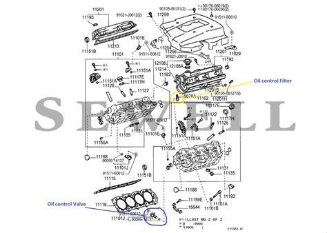 online service manuals 2005 lexus sc electronic valve timing vvt i oil control valve filter clublexus lexus forum discussion