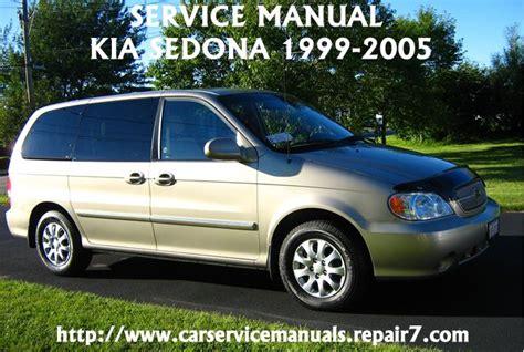 electric and cars manual 2002 kia sedona parental controls kia sedona 2000 2001 2002 2003 2004 2005 service repair manual