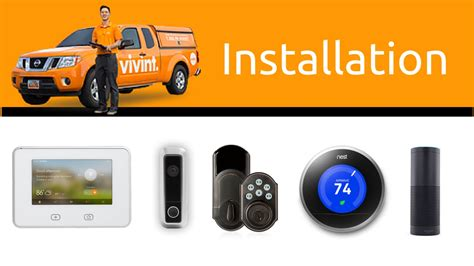 vivint smart home and security installation process