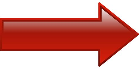 imagenes de flechas rojas vector gratis derecho flecha rojo forma imagen