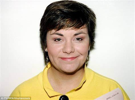 awn french dawn french looks exquisite in 60th birthday portrait