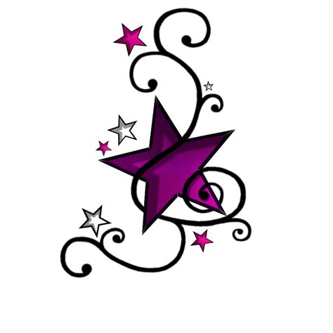 star and flower tattoo designs tattoos designs ideas and meaning tattoos for you