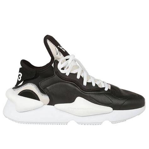 yohji yamamoto mens black sneakers sneakers men