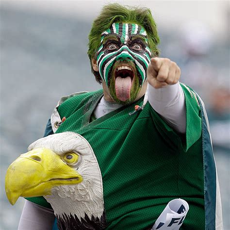 philadelphia eagles fan which nfl team has the craziest sports fans pictures