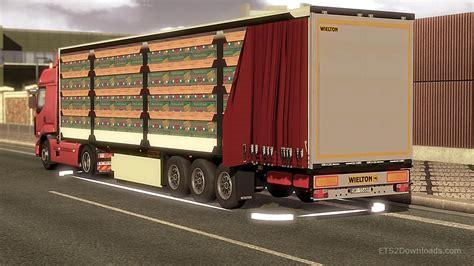 the trailer animated trailer mod truck simulator 2 mods