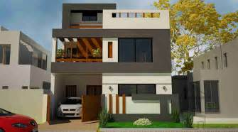 architect designed house plans 5 marla house front design gharplans pk