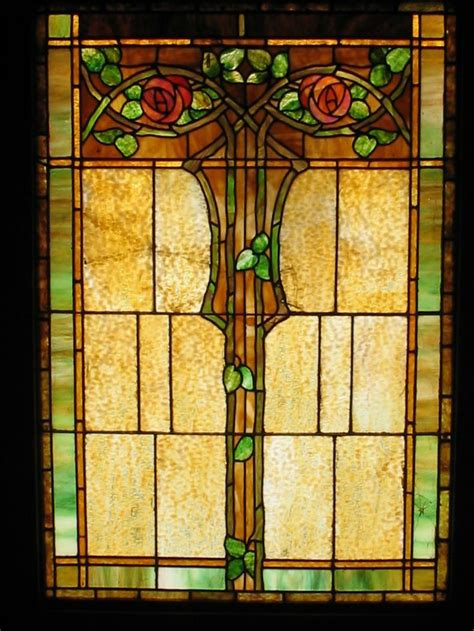 craftsman stained glass stained glass window 1904 craftsman bungalow style and