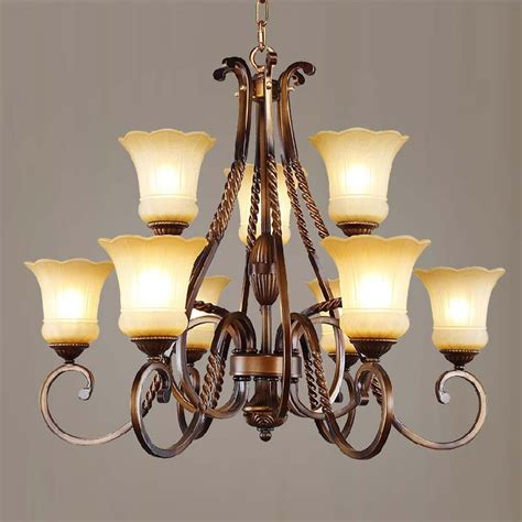 Western Style Chandeliers Continental Western Style Wrought Iron Chandelier Mediterranean Nordic Of The