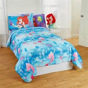 Mermaid Comforters Little Mermaid Twin Full Bed Comforter Flower Swirls