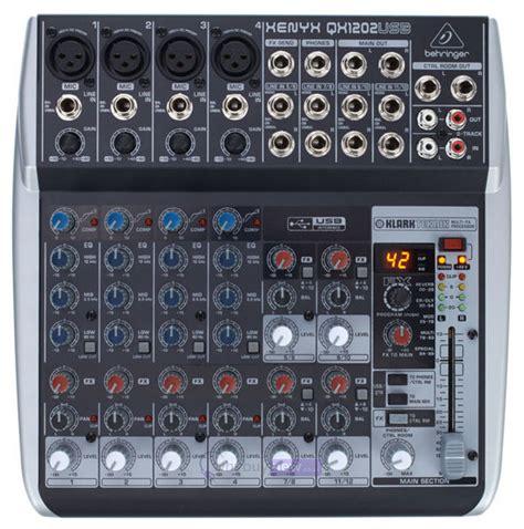 Mixer Behringer Xenyx Qx1202usb behringer xenyx qx1202usb whybuynew co uk