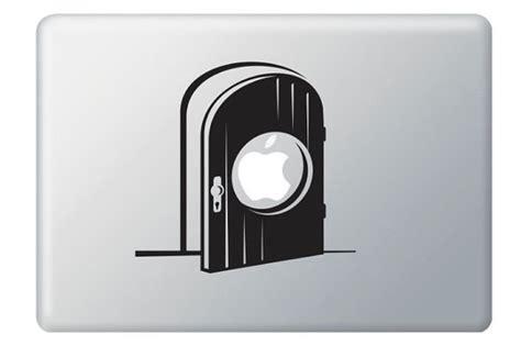 Apple Door apple door gate vinyl decal ideal for macbook macbook