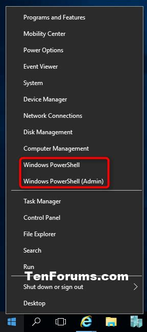 windows 10 powershell tutorial windows powershell elevated open in windows 10 windows