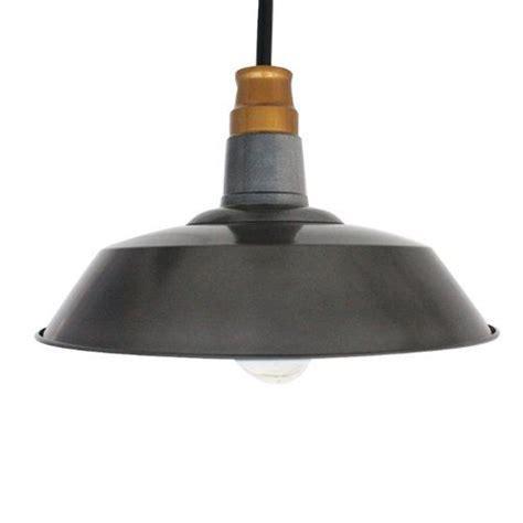 Industrial Pendant Light Shade Ecopower Industrial Edison Hanging Pendant Light Shade 1 Light Renewal Rustic Iron