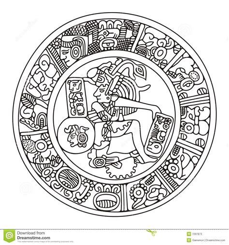 imagenes de aztecas blanco y negro jugador del maya fotos de archivo imagen 7297873