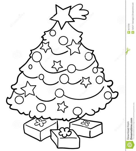 imagenes de navidad blanco y negro 193 rbol de navidad con los regalos im 225 genes de archivo