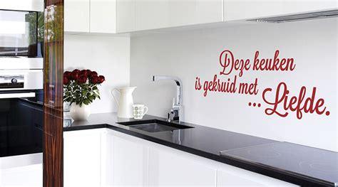 muurstickers voor keuken muurstickers keuken shop wall art nl