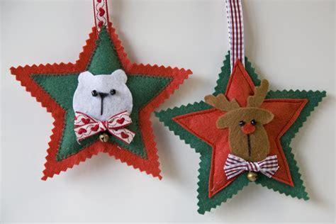 Adornos De Navidad De Fieltro F 225 Ciles De Hacer Hogarmania | estrellas arbol de navidad 28 images de 50 ideas de