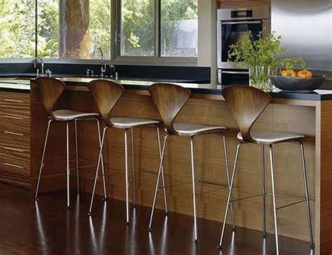 Countertop Stools Kitchen Modern Bar Stools And Kitchen Countertop Stools In Soft Shapes