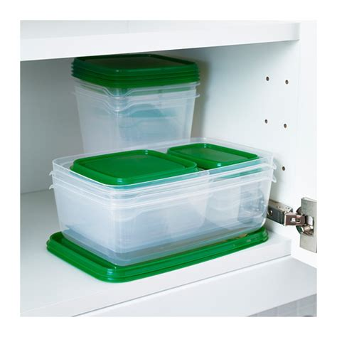 Ikea Pruta new ikea 34 food storage container plastic set lot