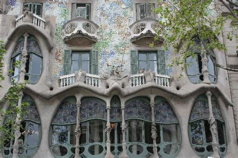 gaudi house barcelona gaudi s house of skulls and bones picture of casa batllo barcelona tripadvisor