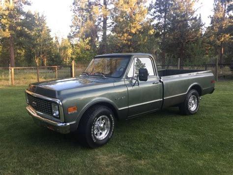 truck restored 1972 chevy chevrolet truck restored