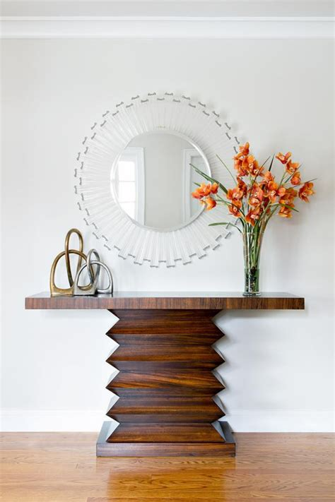 Contemporary Entry Table Photo Page Hgtv