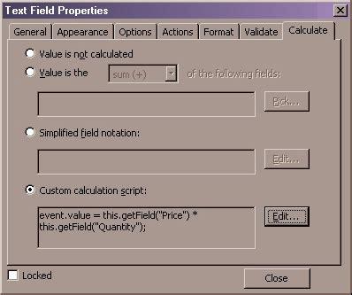 javascript tutorial adobe adobe form javascript field calculation phpsourcecode net