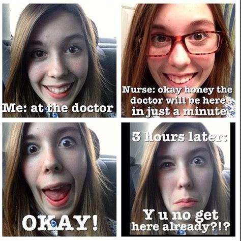 Girl With Glasses Meme - ick i hate the doctor doctor doctorjokes meme selfie