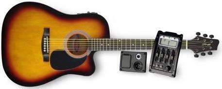 Gitar Akustik Bulet Sb stagg sw203 cetu sb sunburst elektro akustik gitar