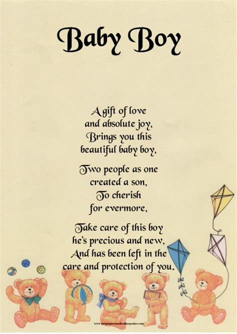 Baby Shower Poems Verses by Pin By Musselman On Awesome Sayings Boys