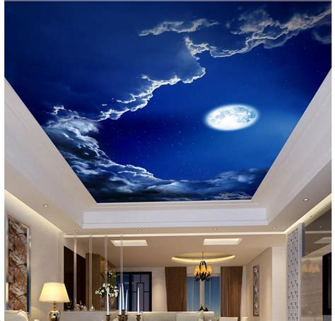 Sky Wallpaper For Ceilings Ceiling Sky And Clouds Wall Sky Ceiling Wallpaper