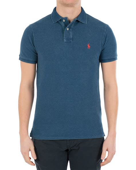 Polos Medium polo ralph slim fit polo medium indigo hos