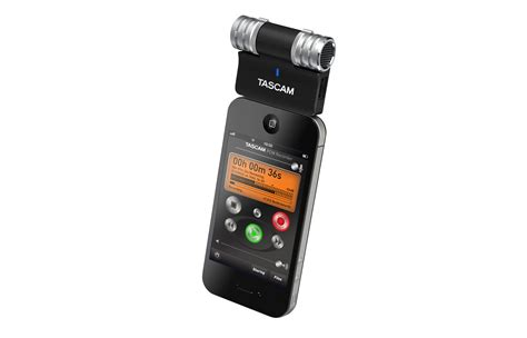 iphone microphone ohh this is exciting tascam release im2 stereo mic for iphone via the dock connector