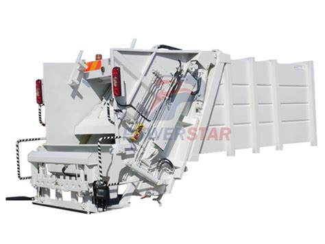 hot selling hydraulic garbage compactor truck body kit