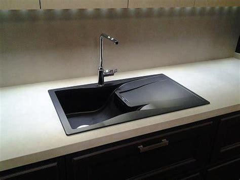 fregaderas cocina fregaderos negros en el dise 241 o de la cocina kansei