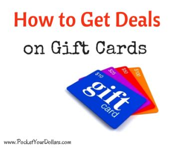 Deals On Gift Cards 2014 - holiday gift card deals 2014