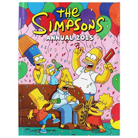 the simpsons annual 2015 by matt groening children s annuals 2018 at the works