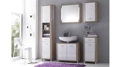 Badezimmer Unterschrank Eiche by Waschbecken Unterschrank Vital Sonoma Eiche Und Wei 223