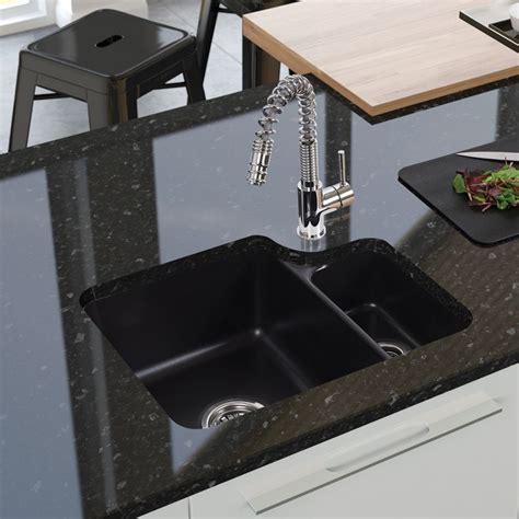 ceramic undermount kitchen sinks 1 5 lincoln lin15w 1 5 undermount ceramic sink sinks taps
