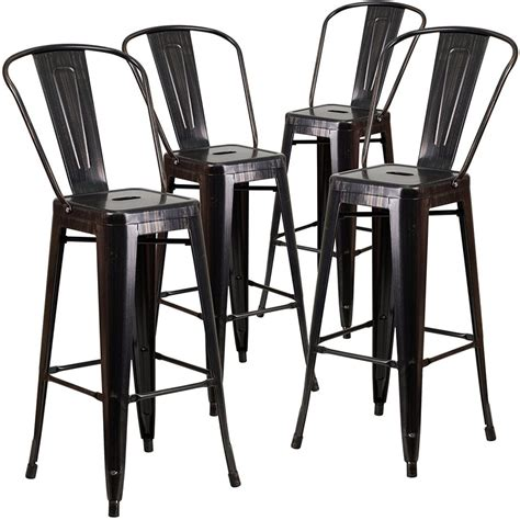 Outdoor Metal Counter Stools by Bar Stools Metal Seat Height Outdoor Counter Stool Texture