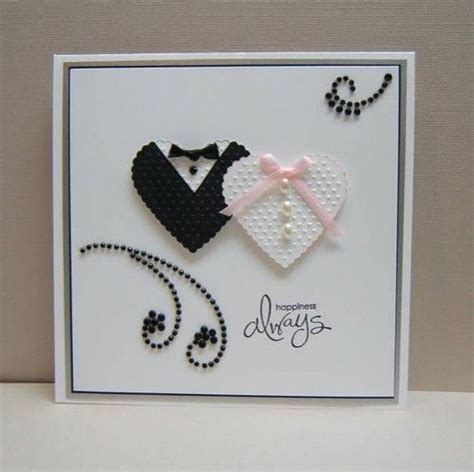 How To Make Handmade Wedding Cards - best 25 wedding cards handmade ideas on