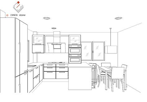 Home Interior Design In Kerala dise 241 o de cocinas distribucion de muebles y electrodom 233 sticos